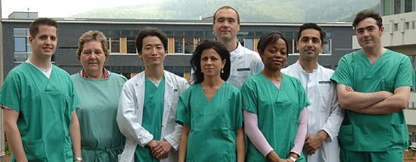 ハイデルベルグ大学Lichtenberg研究室のメンバーとの写真
