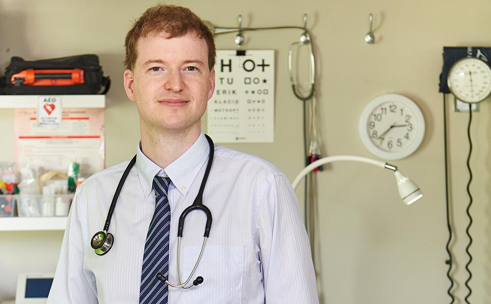 日本で医師として働く(1)社会問題への興味から医師の道へ